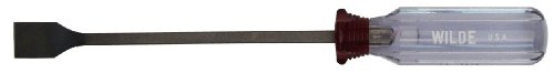 Wilde Tool 516-2432.NP/CC Clam Card Gasket Scraper with 3/4-Inch Face, 11-Inch, Natural Finish