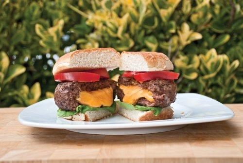 Charcoal Companion Stuff-A-Burger 2PC Set / Basket & Press – CC3518