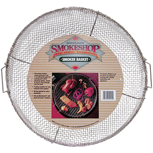 Brinkmann 812-3333-0 Smokeshop Smoker Basket