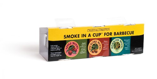 Charcoal Companion Smoke in a Cup Set, Hickory, Mesquite, Apple