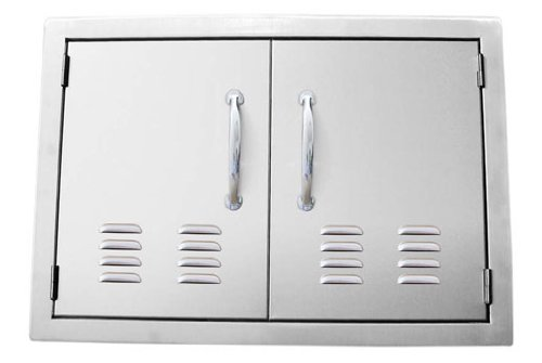 SUNSTONE C-DD30 30-Inch Double Door Flush Mount with Vents