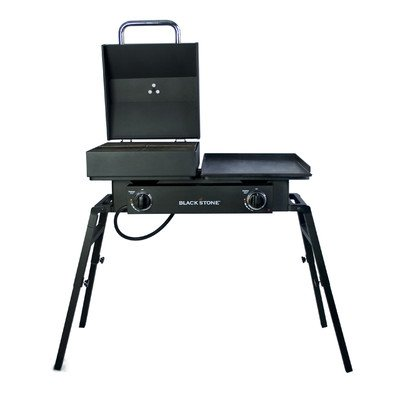 Blackstone 1555 Tailgater Gas Grill and Griddle Combo