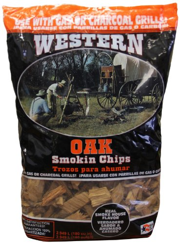 WESTERN 78077 Oak BBQ Smoking Chips