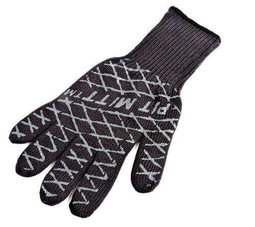 Charcoal Companion Ultimate Barbecue Pit Mitt – For Grill or Oven – CC5102