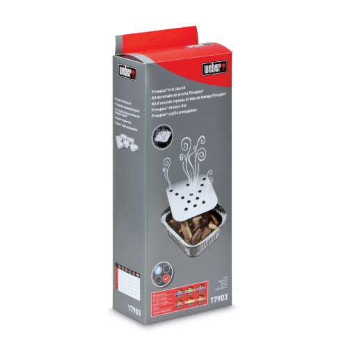 Weber 17903 6-Pack Firespice Trial Size Wood Chips