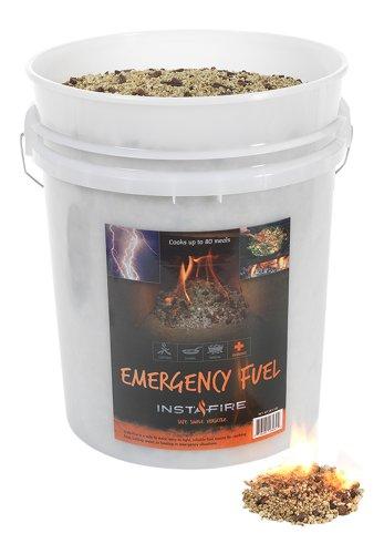 InstaFire Bulk Emergency Fuel, 5-Gallon Bucket