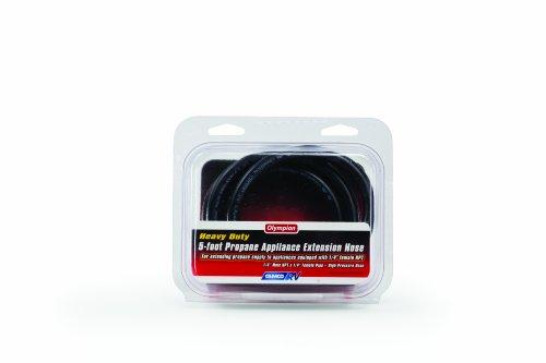 Camco 59883 5′ Propane Appliance Extension Hose – 1/4″ Male NPT x 1/4″ Female NPT