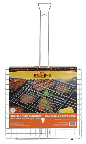 Mr. Bar-B-Q 02003X Chrome Grilling Basket