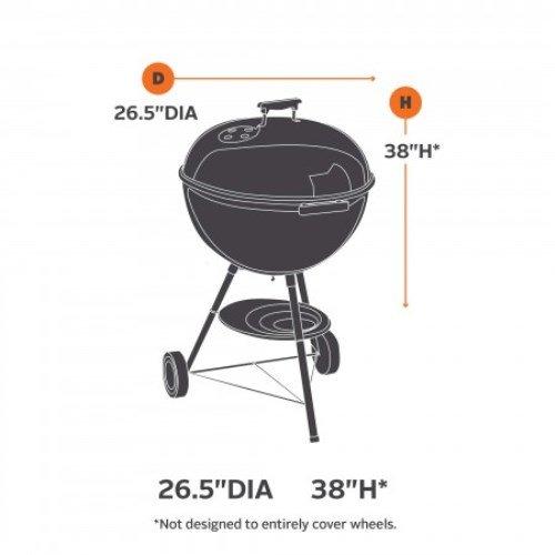 Classic Accessories 73422 Veranda Kettle-Style Barbecue Grill Cover