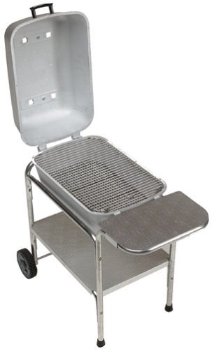 Portable Kitchen PK 99740 Cast Aluminum Grill and Smoker