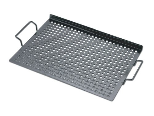 Chefs Basics HW5288 Porcelain Coated Grill Topper with Handles