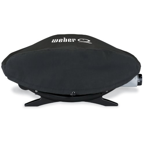 Weber 6551 Vinyl Cover for Weber Q, Q-200, and Q-220 Gas Grills