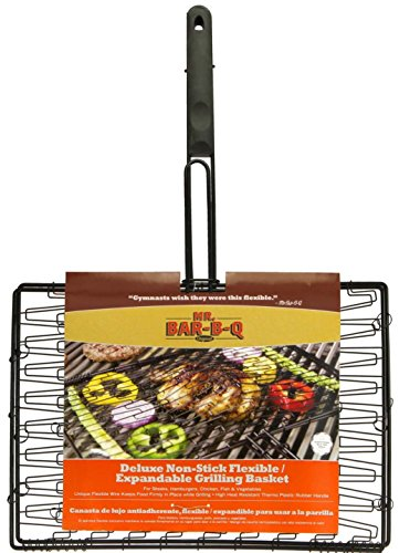 Mr Bar B Q 06601X Deluxe Non-Stick Flexible Grilling Basket