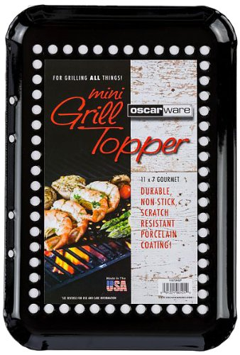 Oscarware Gourmet Porcelain Mini Grill Topper