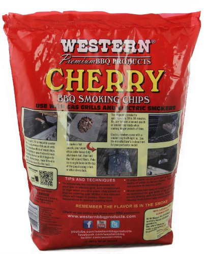 WESTERN 28066 Cherry Smoking Chips for BBQ