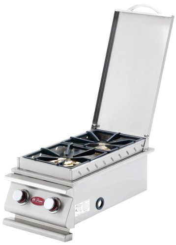 CalFlame BBQ08899P-A Deluxe Double Side Burner