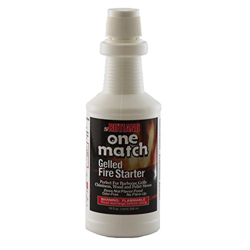 Rutland 49 One Match Gelled Fire Starter, 16-Ounce