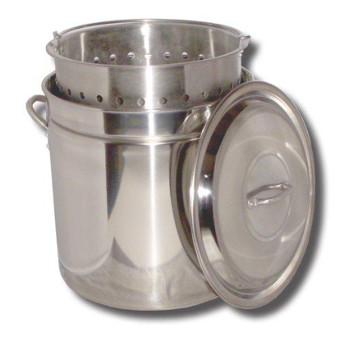 King Kooker KK36SR Ridged Stainless Steel Pot, 36-Quart