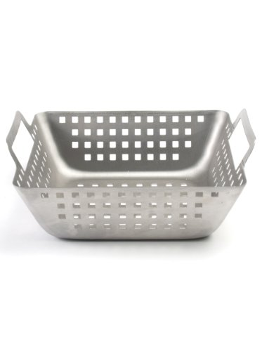 Charcoal Companion Stainless Square Wok (Small) – CC3513