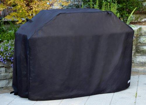 Patio Armor SF40268 60-Inch Premium Medium Grill Cover, Black