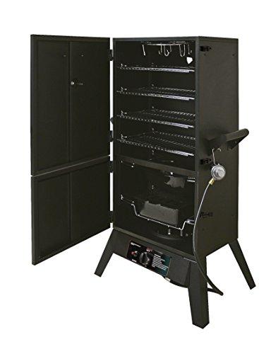 Smoke Hollow 38202G LPG 2-Door Smoker, 38-Inch