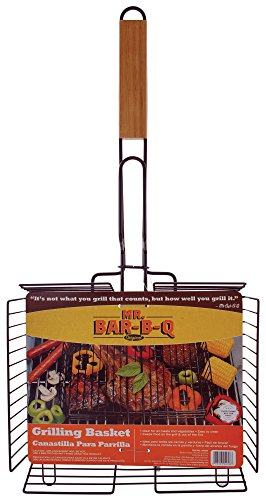 Mr. Bar-B-Q 02008X Deluxe Non-Stick Grilling Basket