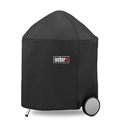 Weber 7153 Grill Cover with Storage Bag for Weber 26-Inch Charcoal Grills, 26-Inch