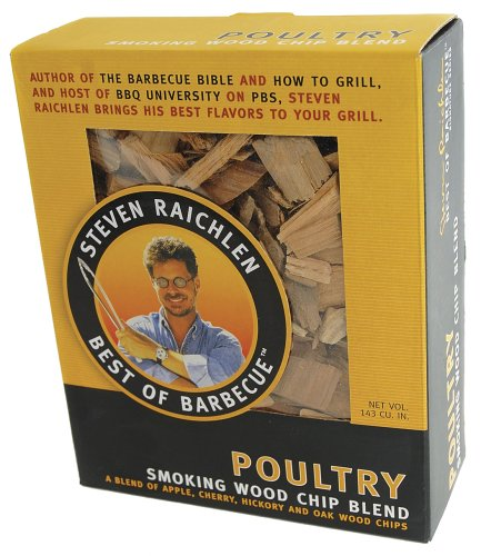 Steven Raichlen Best of Barbecue Smoking Wood Chips for Poultry