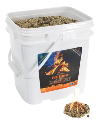 InstaFire Bulk Fire Starter, 4-Gallon Bucket