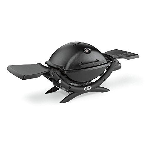 Weber Q1200 Color Liquid Propane Grill, Black, 51010001
