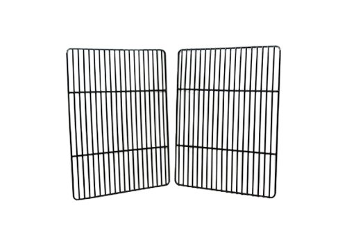 Music City Metals 52682 Porcelain Steel Wire Cooking Grid Replacement for Gas Grill Model Kenmore 415.16128010, Set of 2