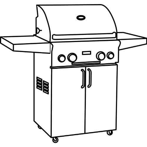 Classic Accessories 73912 Veranda  Barbecue Grill Cover, Medium, 59 Inch