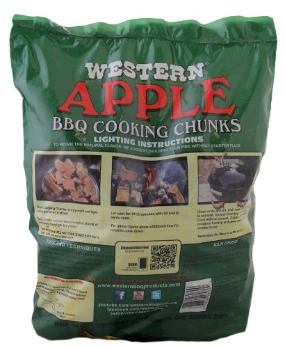 WESTERN 28080 Apple Cooking Wood Chunks