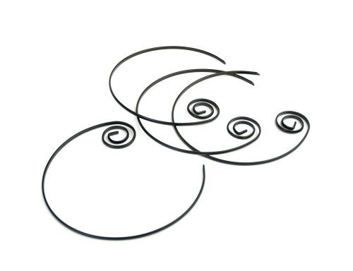 Charcoal Companion Nonstick Circle Kabob Skewers, Set of 4