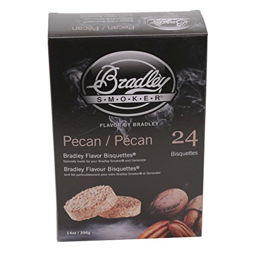Bradley Smokers 106697 Pecan Bisquettes Smoker, 24-Pack