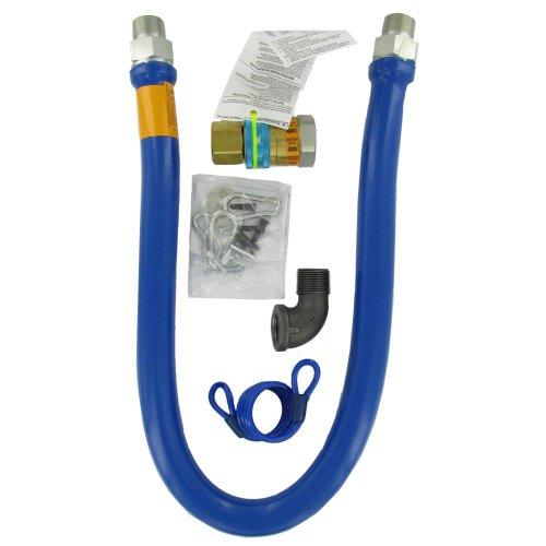 Dormont 1675BPQ48RDC 3/4″ x 48″ Gas Hose Kit With Quick Disconnect