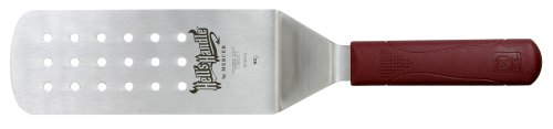 Mercer Culinary Hell's Handle M18310 Large 18/8 Stainless Steel Perforated Turner