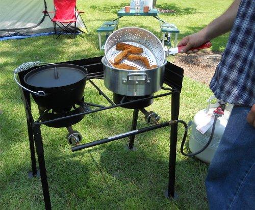 King Kooker CS29 30-Inch Two-Burner Outdoor Cook Stove
