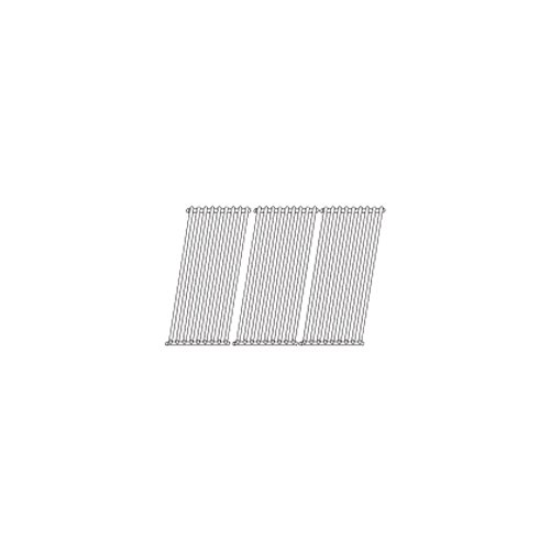 Music City Metals 53S43 Stamped Stainless Steel Cooking Grid Replacement for Gas Grill Model Sonoma PF30LP, Set of 3