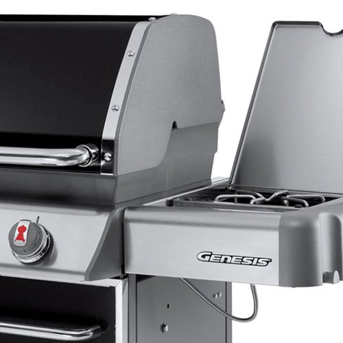 Weber Genesis 6631001 E-330 637-Square-Inch 38,000-BTU Natural-Gas Grill, Black