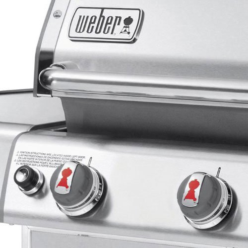 Weber Genesis 6650001 S-310 Stainless-Steel 637-Square-Inch 38,000-BTU Natural-Gas Grill