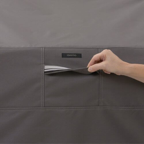 Classic Accessories 55-421-015101-EC Ravenna Grill Cover For The Weber Performer