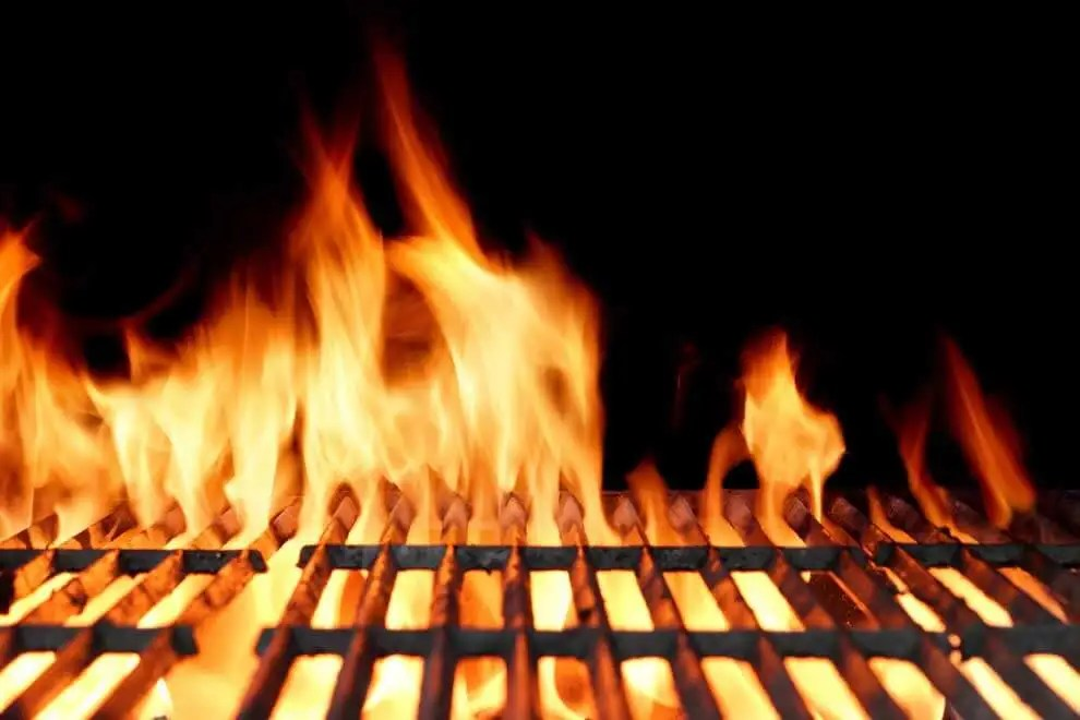 BBQ Grill Flame