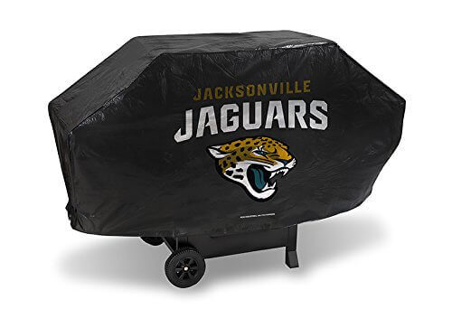 Jacksonville Jaguars Official NFL 68 inch x 35 inch x 21 inch Grill Cover by Rico Industries