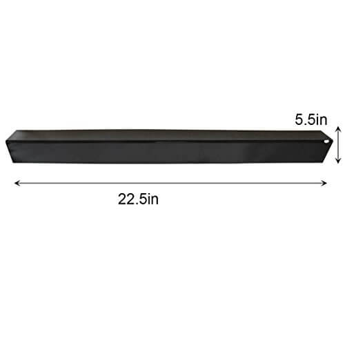 Onlyfire Gas Grill Replacement Porcelain Steel Flavorizer Bars/Heat Plate for Weber 7536, Set of 5, 22.5″