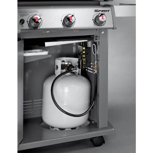 Weber 46510001 Spirit E310 Liquid Propane Gas Grill, Black