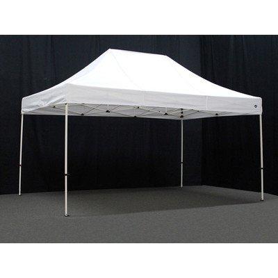 King Canopy FSSHST15WH 10-Feet by 15-Feet Festival Steel Instant Canopy, White