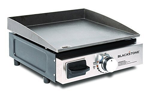 Portable Griddle/Gas Grill for Outdoors and Camping, Blackstone Table Top Camp Griddle
