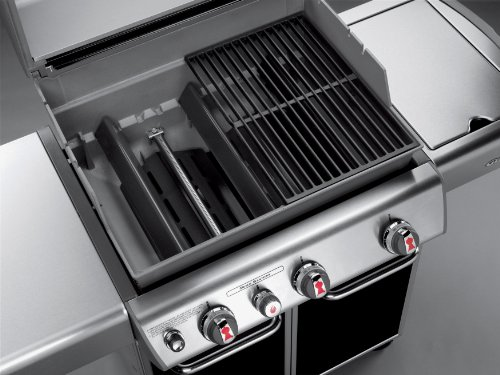 Weber Genesis 6531001 E-330 637-Square-Inch 38,000-BTU Liquid-Propane Gas Grill, Black