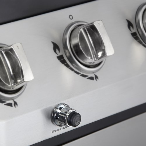 Dyna-Glo DGB390SNP-D Smart Space Living 36,000 BTU 3-Burner LP Gas Grill